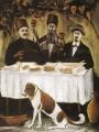 Пиросманашвили, Николай   (Пиросмани Нико) Кутеж в виноградной беседке