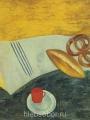 Штеренберг Д.- Красная чашка на мраморном столе