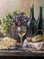 Воробьева, Ольга. Натюрморт с виноградом
