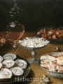 Beert, Osias Dishes with oysters, fruit, and wine