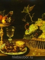 Beert, Osias Still life with fruits