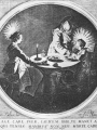 CALLOT, Jacques The Holy Family at Table
