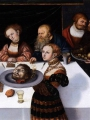 CRANACH, Lucas the Elder The Feast of Herod