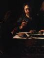 Caravaggio, Michelangelo Merisi da  Supper at Emmaus (деталь)