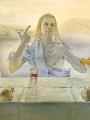 Dali, Salvador Sacrament of the last supper (Detail)