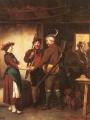 Defregger, Franz von    Abschied Der Jager
