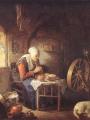 Dou, Gerrit  The Prayer of the Spinner
