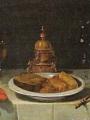 Hamen, Juan van der Stillleben mit Tischgedeck