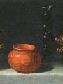 Hamen, Juan van der Stillleben mit kandierten Frückten, Terakottaschale und Glas