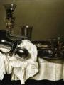 Heda, Gerret Willemsz   An Upturned Silver Ewer