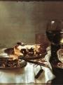 Heda, Gerrit Willemsz  Breakfast Table with Blackberry Pie