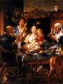 Jordaens, Jacob Comme les Vieux ont chante, ainsi les jeunes jouent de la flute