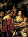 Jordaens, Jacob  The King Drinks