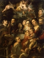 Jordaens, Jacob _Self-Portrait among Parents, Brothers and Sisters