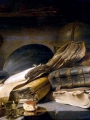 Lievens, Jan Still Life with Books