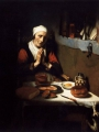 MAES, Nicolaes_Old Woman Saying Grace