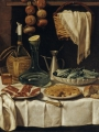 Magini, Carlo  Still Life with Wickered Bottle