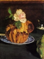 Manet, Edouard Luncheon   Still Life With Brioche, 1880
