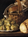 Meléndez, Luis Eugenio  Still life with Figs and Bread