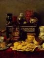 PEREDA, Antonio de Still-Life with an Ebony Chest