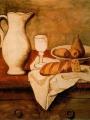 Picasso, Pablo Still life with jug and bread