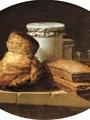 Porte, Henri Horace Roland De La A Brioche, Two Pastries, Two Covered Jars