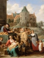 TENIERS, David the Younger The Works of Mercy