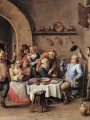 TENIERS, David the Younger_Twelfth-night (The King Drinks) (2)