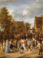 TENIERS, David the Younger_Village Revel with Aristocratic Couple