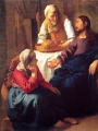 VERMEER, Johannes  Christ in the House of Mary and Martha