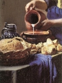 Vermeer, Johannes The Kitchen Maid (detail)