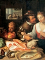 Winghe, Jeremias van  Kitchen Scene