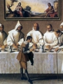 Zurbaran, Francisco de St Hugo of Grenoble in the Carthusian Refectory2