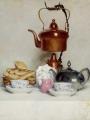 Anker, Albert Samuel  - Still life. Tea servic